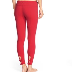 Kate Spade x Beyond Yoga bow back pant